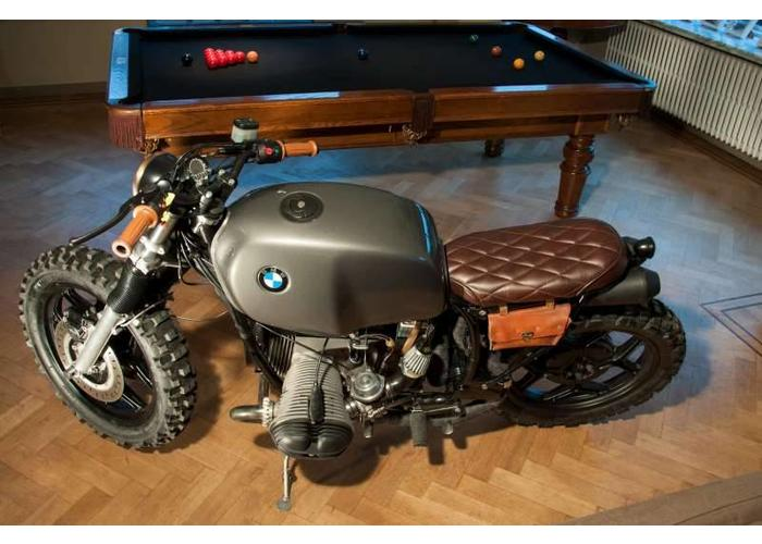 Smoke Achterlicht LED Universeel Cafe Racer type Bates Style