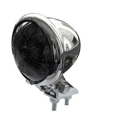 Smoke Chrome Achterlicht LED Universeel Chopper type Bates Style