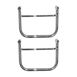 Saddlebag Holder Chrome 97-21 XVS650