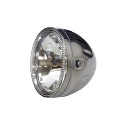 "5.75"" Koplamp Chroom met LED Ring Halo"