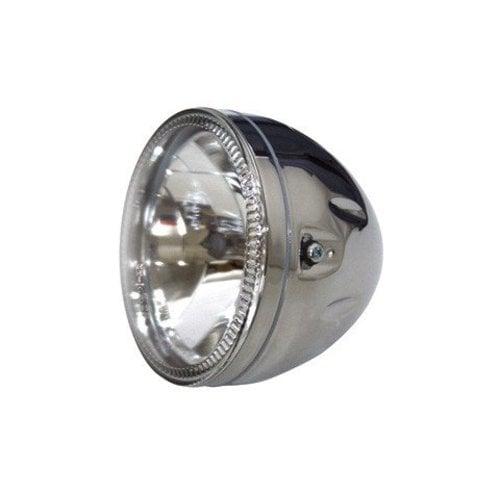 "Highsider 5.75"" Koplamp Chroom met LED Ring Halo"