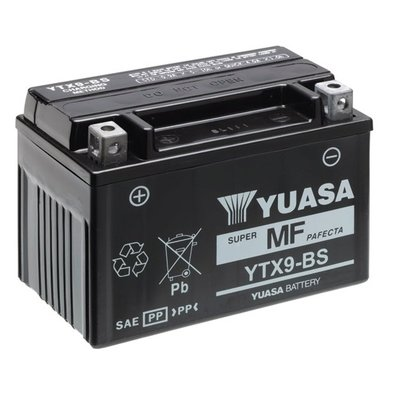 Yuasa Battery Yuasa YTX9-BS Maintenance Free