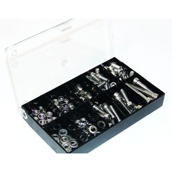 Stainless 150pc M6 Bolts / Nuts Assortment (Metric)