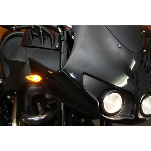 Motogadget m-Blaze Ice Chrome Knipperlicht