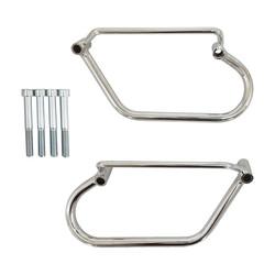Saddlebag Holder Chrome 00-15 VT750