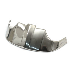 Front Fender Tip Stainless -Old Style- 49-58 B.T.
