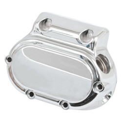 Transmission End Cover Smooth Cable Clutch Chrome 87-06 Softail; 87-06 FLT; 91-05 Dyna