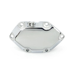 Transmission End Cover Chrome 80-86 B.T.