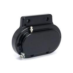 Eindkap versnellingsbak Glad hydraulisch Zwart 87-06 Softail; 87-06 FLT; 91-05 Dyna