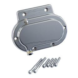 Getriebeendabdeckung Glatt Hydraulik Chrom 87-06 Softail; 87-06 FLT; 91-05 Dyna