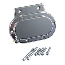 Transmission End Cover Smooth Hydraulic Chrome 87-06 Softail; 87-06 FLT; 91-05 Dyna