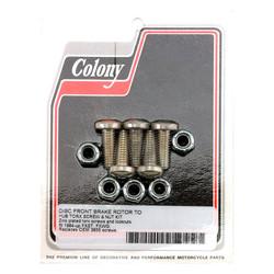 Schrauben- und Mutternsatz für Vorderradbremsscheibe Flaches Torx-Zink 84-20 BT, XL