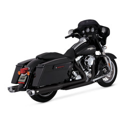 Kommode Duals Crossover Head Pipes 09-16 Touring