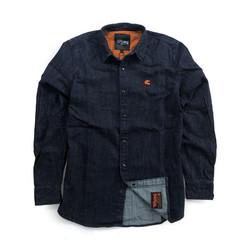 Bear Premium Denim Shirt Blue