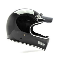 Peruna helmet Black Gloss