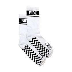 Early Finish socks white