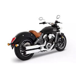 Muffler Slip-On 3,5 Inch 15-21 Indian Scout (Select Color)