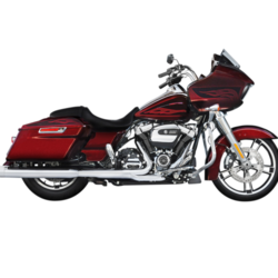 Muffler Slip-On 4 Inch Duals 17-20 Touring Chrome