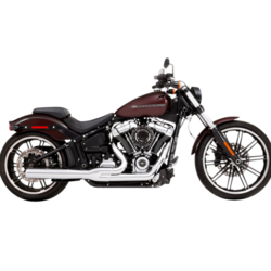 Exhaust System 2 Into 1 18-21 Softail Chrome