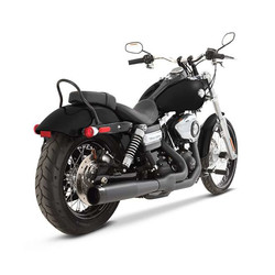 Exhaust System 2 Into 1 07-16 Dyna Black