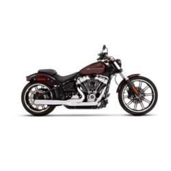 Exhaust System 2 Into 1 18-20 Softail Chrome