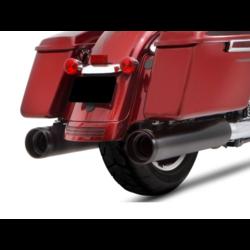 Schalldämpfer Slip-On 4.5 Zoll Duals 18-20 Touring Schwarz