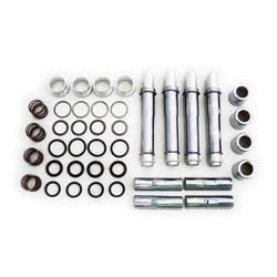 Complete 91-03 XL Multiple-Parts Pushrods Cover Kit. Chrome