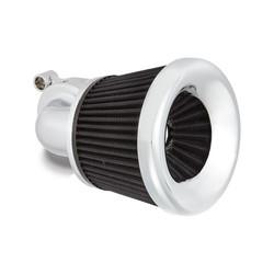 Velocity 90 Luftfilter-Kit. Chrom