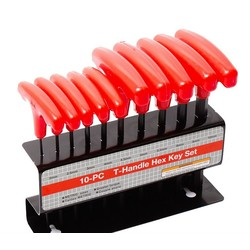 Inbus T-Handleset Colour 10 Delig