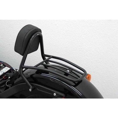 Sissy Bar Zwart HD Softail Blackline FXS 2001-, Softail Slim FLS 2012