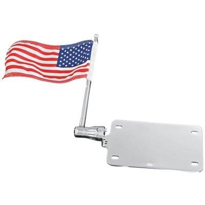 Support de plaque d'immatriculation Küryaky avec drapeau américain