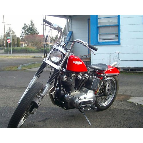"Biltwell 1"" FRISCO Stuur Chrome"