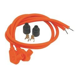 Câble d'allumage 8MM 90° 60CM - Rouge