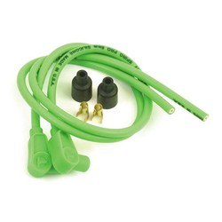 Câble d'allumage 8MM 90° 60CM - Vert