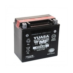 Onderhoudsvrije Accu Yuasa YTX14L-BS
