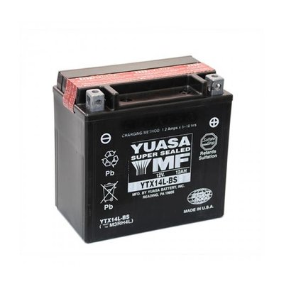 Yuasa Yuasa YTX14L-BS Maintenance-free Battery