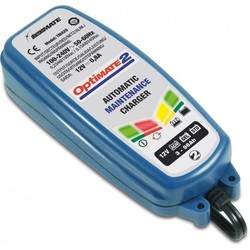 Chargeur de batterie lithium Optimate 2 4-étaps 0,8A 12V 0,8A