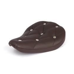 Selle Bobber brune à rivets