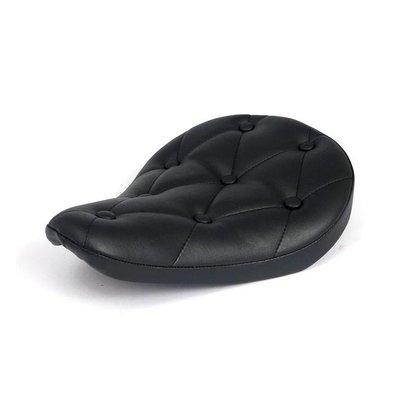 """Bobber Seat """"Rivets"""" Black"""