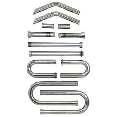 Biltwell Kit de tuyaux d'échappement en acier