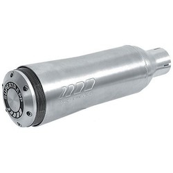 Pot d'échappement Racing en aluminium 38MM