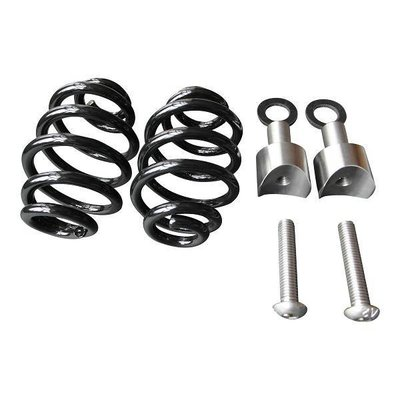 """Spiral Springs Black 3"""" with Mounting"""