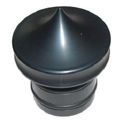 Oil tank Plug - Black - No dipstick
