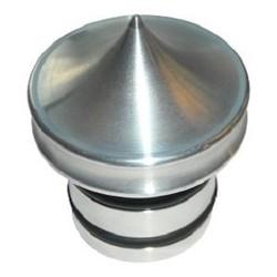 Bouchon de réservoir d'huile - aluminium - sans jauge