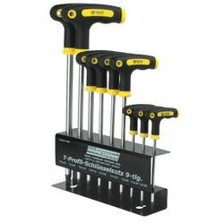 Kit de clés à béquille Torx - 9 pièces