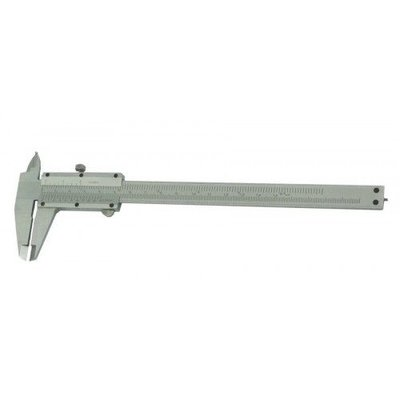 Mannesmann Pied à coulisse 150 mm en acier inoxydable