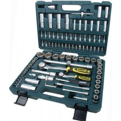 """Mannesmann Kit clés 1/4"""" + 1/2"""" et cliquets SL - 94 pièces"""