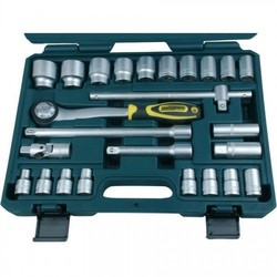 Socket set 25 pieces 1/2 ""