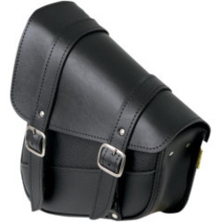 Willie & Max Swingarm Saddlebag Left Black