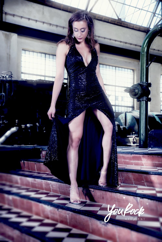 IFBB Fitmodel jurk op maat gemaakt